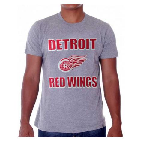 47 Brand Frozen Rope Tee Grey Detroit Red Wings - Veľkosť:2XL