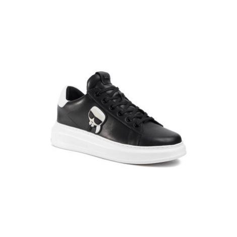 KARL LAGERFELD Sneakersy KL52530 Čierna