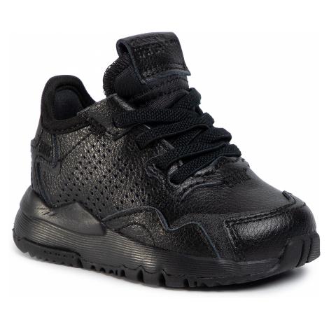 Topánky adidas - Nite Jogger El I EG6991  Cblack/Cblack/Cblack