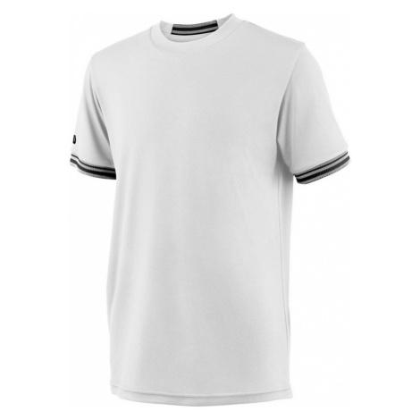 Detské tričko Wilson Team Solid Crew White
