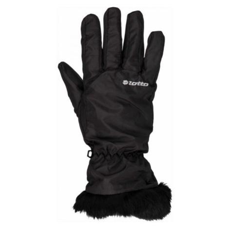 Lotto LISA čierna - Dámske rukavice