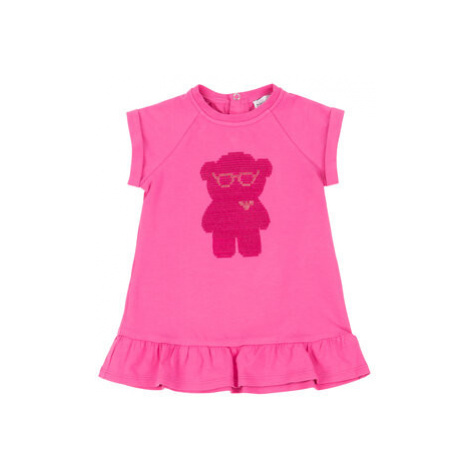 Emporio Armani Každodenné šaty 3HEA20 4JCKZ 0309 Ružová Regular Fit