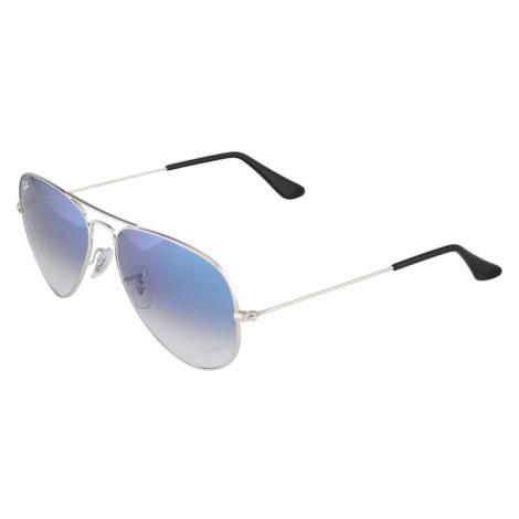 Ray-Ban Slnečné okuliare 'Aviator'  zlatá / modrá