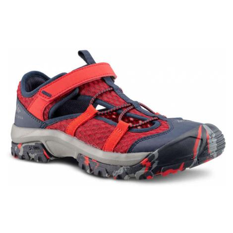 QUECHUA Sandále Mh150 červené