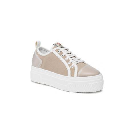 Pollini Sneakersy SA15075G1CXG310B Hnedá
