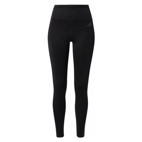 ADIDAS PERFORMANCE Športové nohavice  čierna / sivá