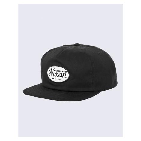 Nixon Axle Snapback Hat Black