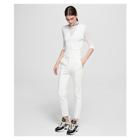 Nohavice Karl Lagerfeld Punto Pants W/ Logo Tape