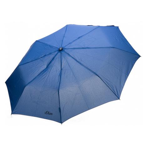 s.Oliver Dámsky skladací mechanický dáždnik Fruit Coctail UNI - 70801SO2303 Blue