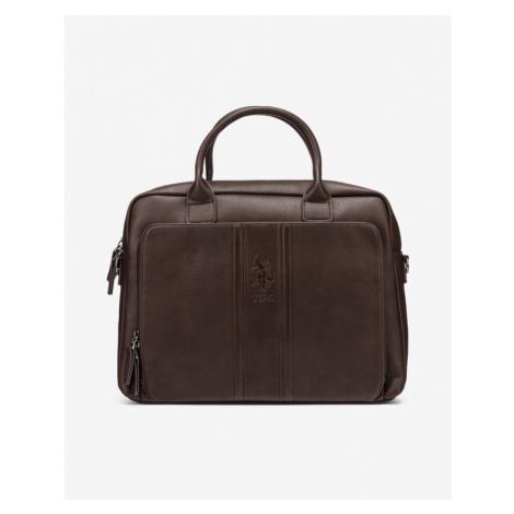 Hnedé pánske tašky na notebook