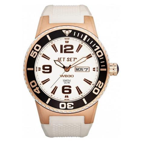 Jet Set Analogové hodinky WB30 J5545R-161 s vodotěsností ATM