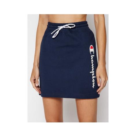 Champion Mini sukňa Vertical Script Logo 112649 Tmavomodrá Custom Fit