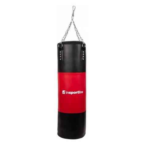 Plniace boxovacie vrece inSPORTline 40-80 kg Farba čierno-červená
