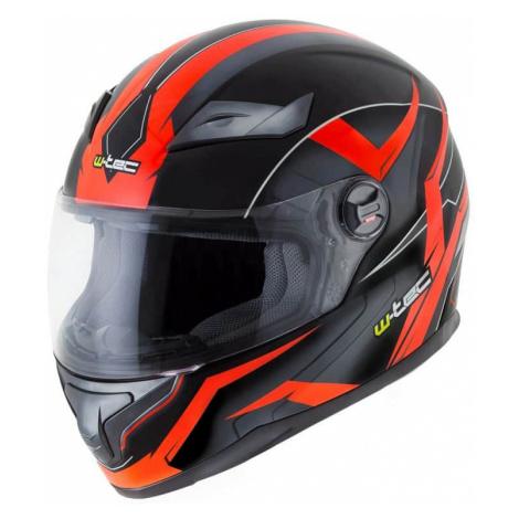 Integrálna prilba W-TEC FS-811BO Fire Orange Farba čierno-oranžová
