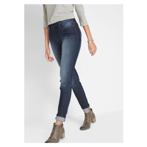 Džínsové legíny, komfortný pás, Skinny