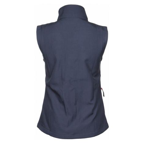 Promo dámská softshellová vesta barva: šedá;velikost oblečení: M James & Nicholson