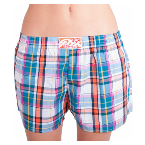 Women's shorts Styx classic rubber multicolored (K622)