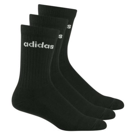 adidas HC CREW 3PP čierna - Set ponožiek