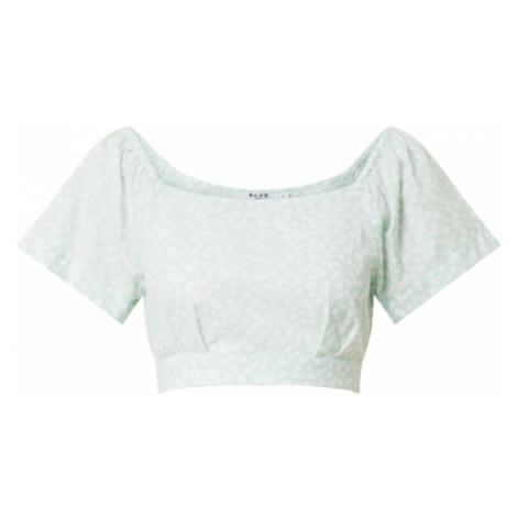 NA-KD Tričko  pastelovo zelená
