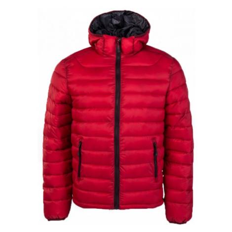 Willard LESS červená - Pánska zateplená bunda