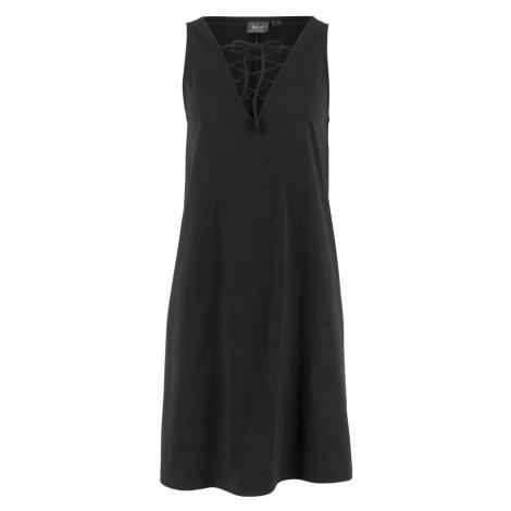 Džersejové šaty so šnurovačkou bonprix