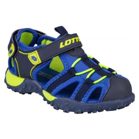 Lotto MAYPOS modrá - Detské sandále