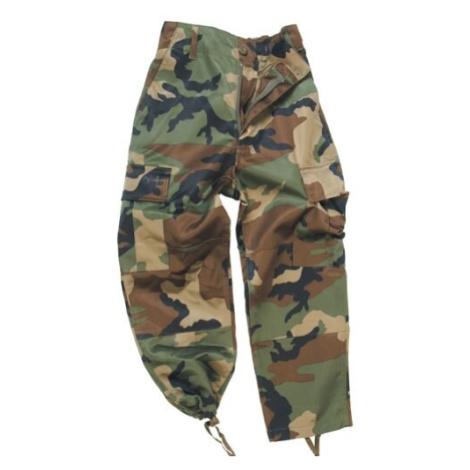 Detské nohavice US BDU Mil-Tec® - woodland