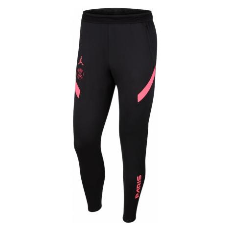 Jordan Športové nohavice  čierna / ružová