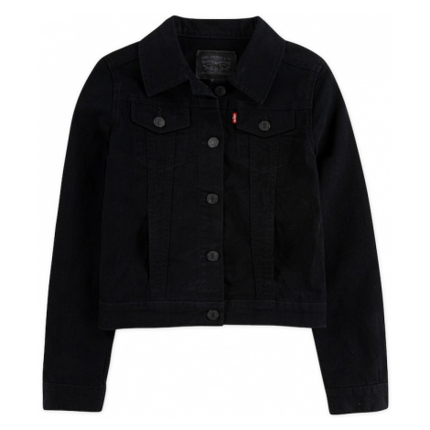 LEVI'S Prechodná bunda 'Trucker Jacket'  čierna Levi´s