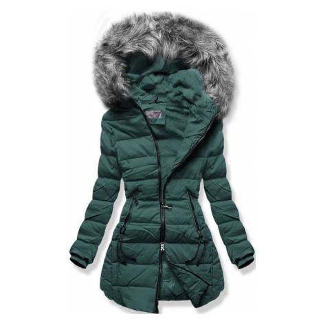 MODOVO Dámska zimná bunda zelená