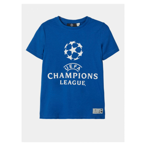 Modré chlapčenské tričko name it UEFA