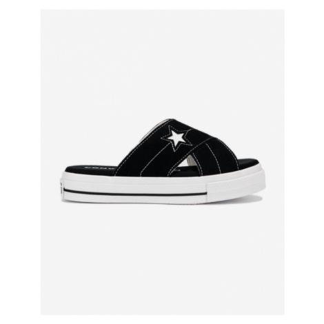 Converse One Star Šľapky Čierna