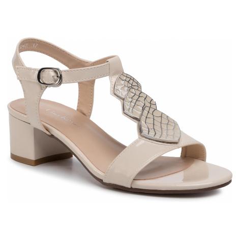 Sandále CLARA BARSON - WSS20252-01 Beige 1