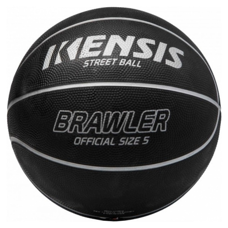 Kensis BRAWLER5 čierna - Basketbalová lopta