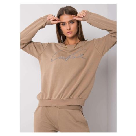 Women´s beige sweatshirt set