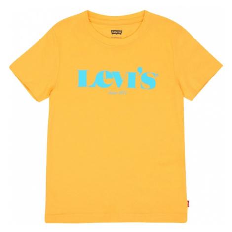 LEVI'S Tričko  žltá / tyrkysová Levi´s