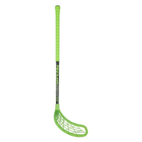 Kensis 4KIDS zelená - Florbalová hokejka
