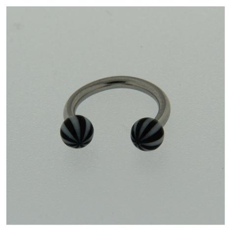 Strieborný piercing 13847