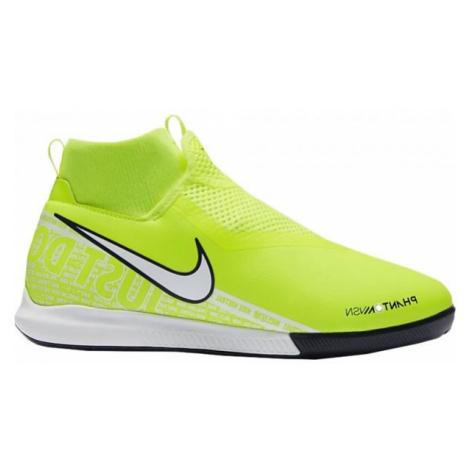 Nike JR PHANTOM VISION ACADEMY DF IC zelená - Detská halová obuv