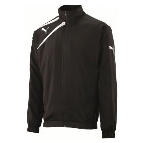 Puma SPIRIT WOvoN JACKET JR čierna - Detská športová bunda