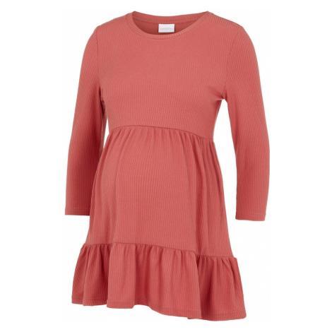 MAMALICIOUS Šaty  červená Mama Licious