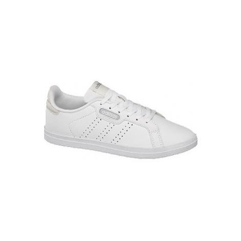 Biele tenisky Adidas Courtpoint CL X