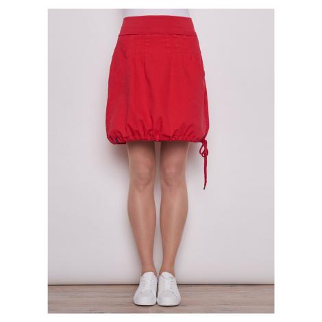 Tranquillo červené sukňa
