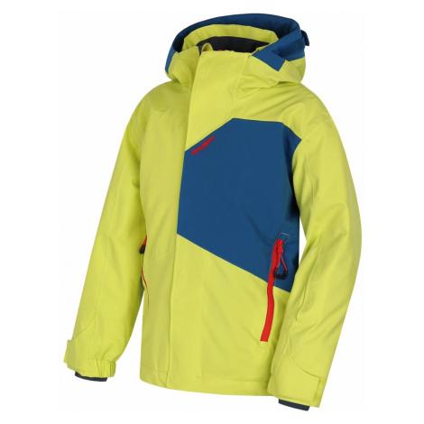 Husky Zort Kids sv. zelená, 140-Detská ski bunda