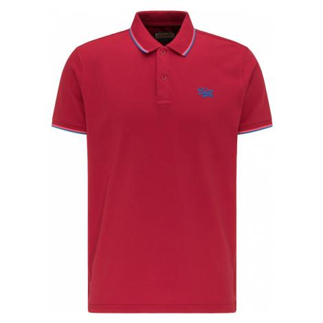 Petrol Industries Tričko  červená / modrá