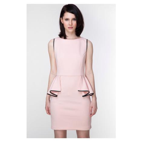 Svetloružové šaty ASU0007 Ambigante