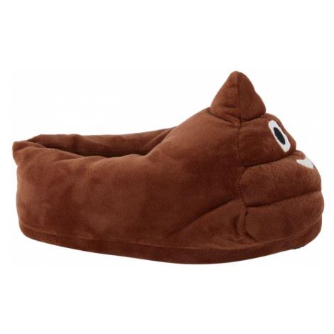 Casa mia - Hnedé papuče Casa Mia