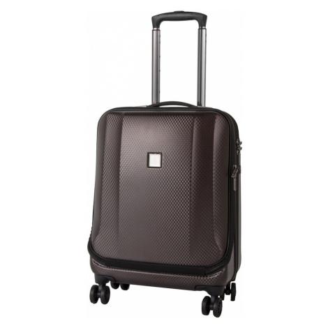 Titan Kabínový cestovný kufor Xenon Deluxe Business Wheeler Brown 40 l