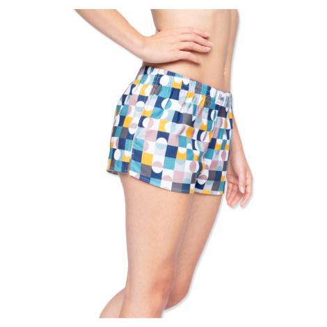 Dámske viacfarebné šortky Retro Girl Slippsy