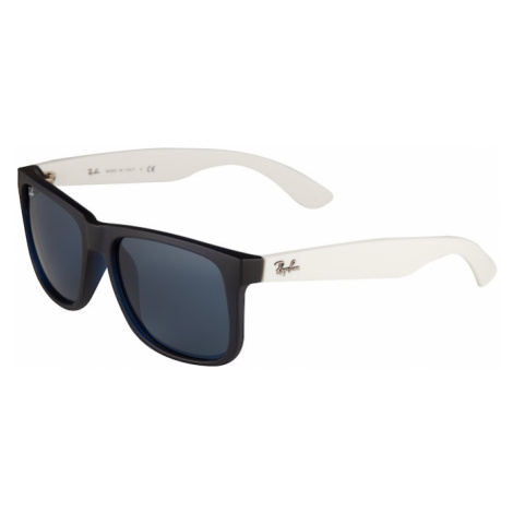 Ray-Ban Slnečné okuliare 'Justin'  priehľadná / modrá